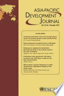 Asia Pacific Development Journal Vol 24 No 2 December 2017