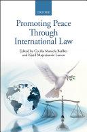 Promoting Peace Through International Law