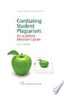 Combating Student Plagiarism Book