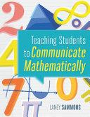 Teaching Students to Communicate Mathematically Pdf/ePub eBook