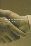 The Fall and Rise of Freedom of Contract ebook