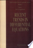 Recent Trends in Differential Equations