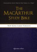 NKJV  The MacArthur Study Bible  eBook
