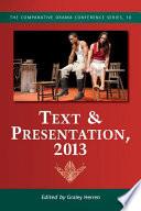 Text Presentation 2013