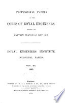 Professional Papers Of The Corps Of Royal Engineers Occasional Papers