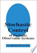 Stochastic Control Of Partially Observable Systems Book PDF