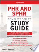 PHR and SPHR Professional in Human Resources Certification Complete Deluxe Study Guide