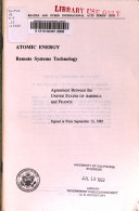 Atomic Energy, Remote Systems Technology