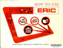How to Use ERIC