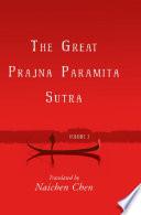 The Great Prajna Paramita Sutra Volume 3