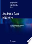Academic Pain Medicine