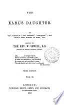 The Earl S Daughter By The Author Of Amy Herbert Ed By W Sewell