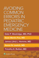 Avoiding Common Errors In Pediatric Emergency Medicine Book PDF