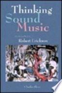 Thinking sound music