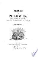 Mémoires et publications