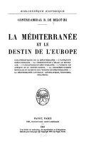 La Méditerranée et les destin de l'Europe