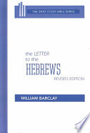 The Letter To The Hebrews Book PDF