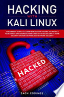 Hacking with Kali Linux