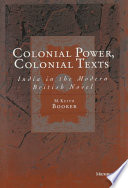Colonial Power Colonial Texts