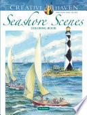 Creative Haven Seashore Scenes Coloring Book