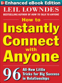 Pdf How to Instantly Connect with Anyone (ENHANCED EBOOK) Telecharger
