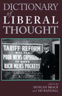 Dictionary Of Liberal Thought