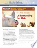 Bio Security In 4 H Animal Science B Livestock Disease Understanding The Risk