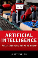 link to Artificial intelligence : what everyone needs to know in the TCC library catalog