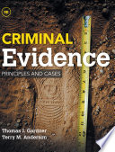Criminal Evidence  Principles and Cases Book