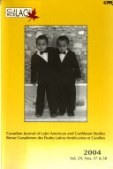 Canadian Journal Of Latin American And Caribbean Studies