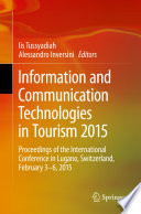 Information and Communication Technologies in Tourism 2015
