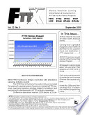 FTTx Monthly Newsletter September 2010