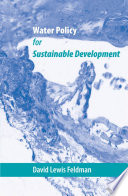 Water Policy for Sustainable Development Book