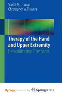 Therapy of the Hand and Upper Extremity Book