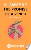 The Promise of a Pencil by Adam Braun (Summary)
