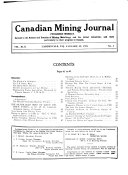 The Canadian Mining Journal
