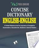 ENGLISH   ENGLISH DICTIONARY  POCKET SIZE  Book PDF