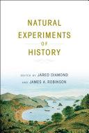 Pdf Natural Experiments of History