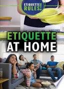 Etiquette at Home Book PDF