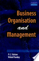 Business Organisation and Management Book