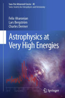 Astrophysics at Very High Energies