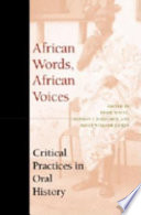 African Words  African Voices