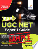 (Free Sample) GO TO UGC NET Paper 1 Guide