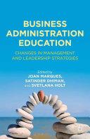 Business Administration Education Pdf/ePub eBook