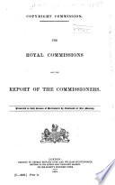 Minutes of the Evidence Taken Before the Royal Commission on Copyright