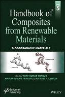 Handbook of Composites from Renewable Materials  Biodegradable Materials