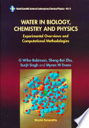 Water in Biology  Chemistry and Physics
