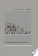 Learning Criminal Procedure  : Investigations