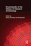 Pdf Encyclopedia of the History of Classical Archaeology Telecharger