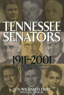 Tennessee Senators 1911 2001 Book PDF